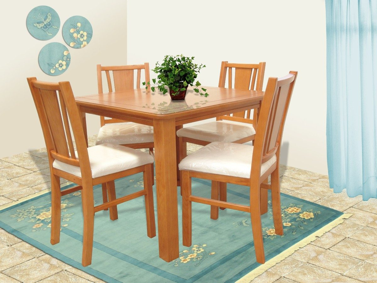 Comedor 6 Sillas Muebles El Angel   639000 en Mercado