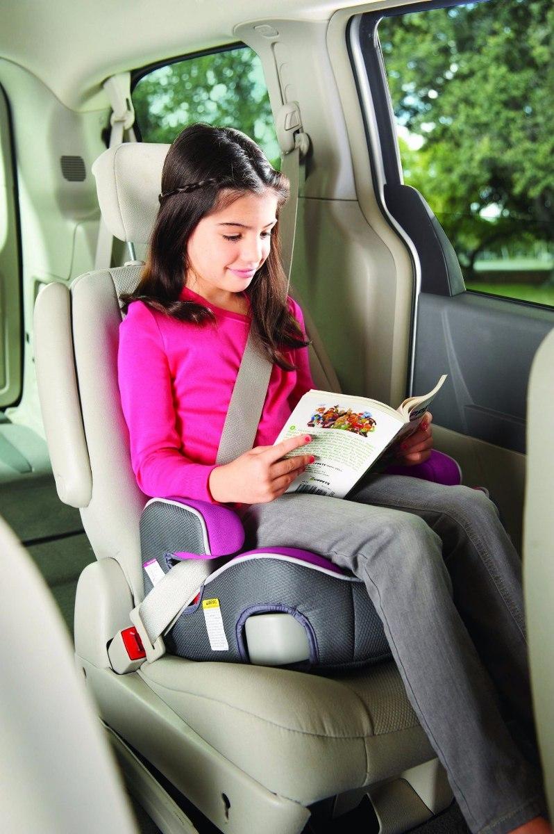 Sillita Auto Car Seat Graco Backless Turbobooster Galaxy
