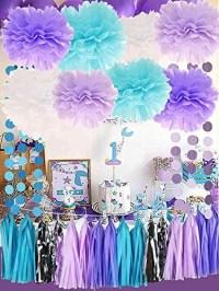 Sirena Bajo El Mar Decoraciones Purple Baby Blue Baby ...