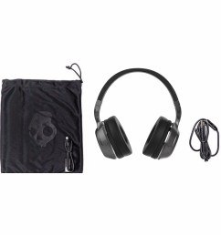 details about skullcandy hesh 2 over ear dj style stereo headphones w wired mic black silver [ 1130 x 1130 Pixel ]