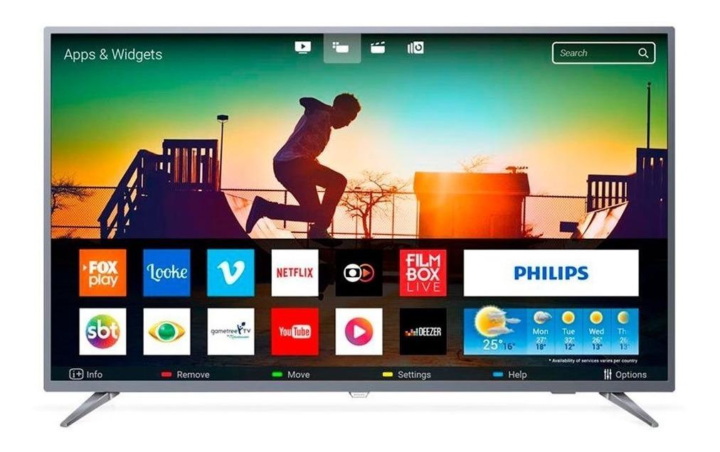Smart Tv Led 50 Polegadas Philips 50pug6513 4k Usb 3 Hdmi Ne - R$ 2.243,13 em Mercado Livre