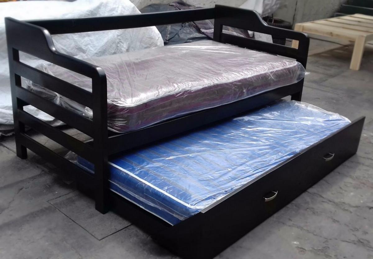 sofa cama individual mexico df set below 50000 sofá  doble incluye colchones basicos