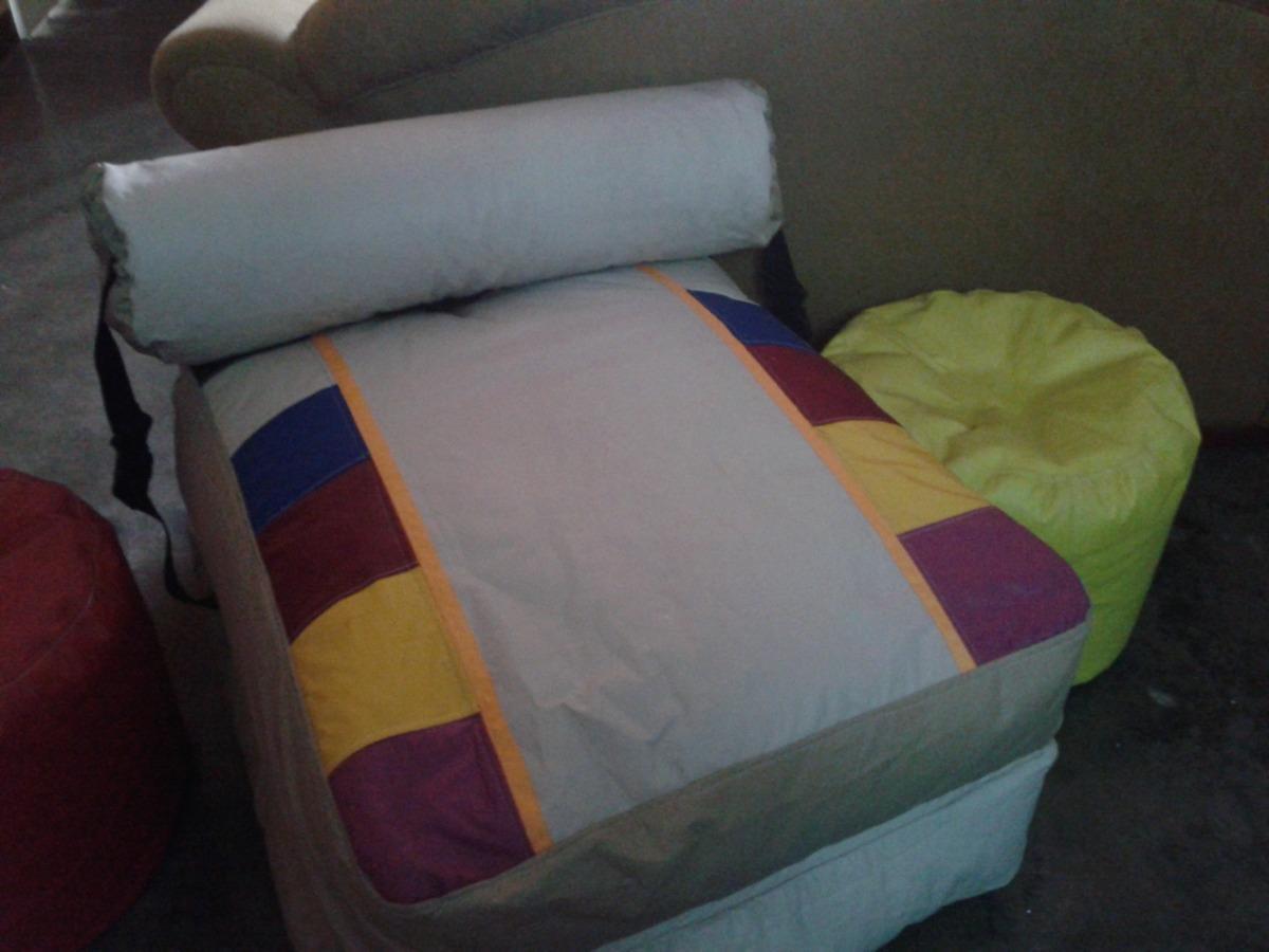 sofa cama mercado libre venezuela unusual designs tipo puff indvidual o matrimonial bs 3 200 00