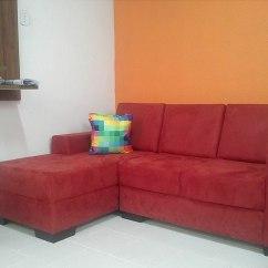 Sofa Usado No Mercado Livre Queen Beds Canada Sofá Com Chaise Mv Estofados R 1 289 00 Em