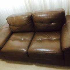 Sofa Usado No Mercado Livre Leather Tufted Dallas Sofá De Couro 3 E 2 Lugares R 990 80 Em