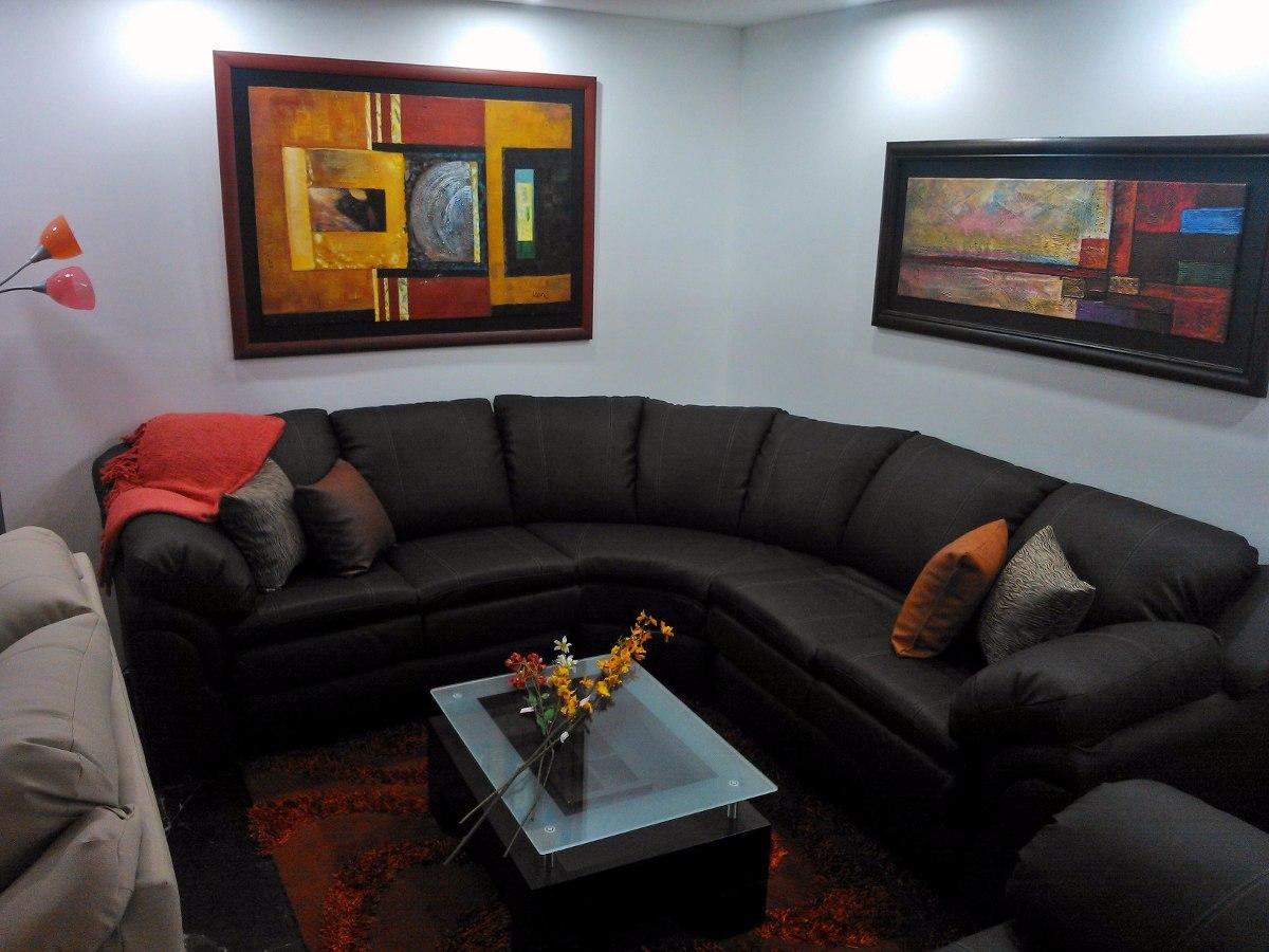 Sofa Modular Recibo Juego De Sala Mueble En L  Bs 1820