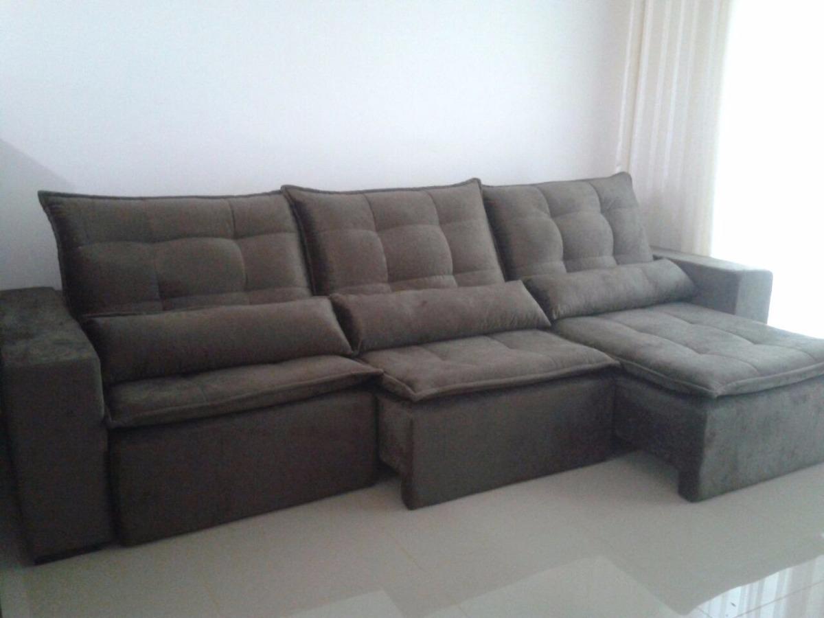 sofa usado no mercado livre murphy bed with diy retratil e reclinavel r 2 200 00 em