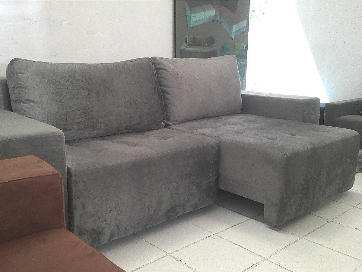 sofa usado no mercado livre seat height 20 inches sofá retrátil novo r 1 549 00 em