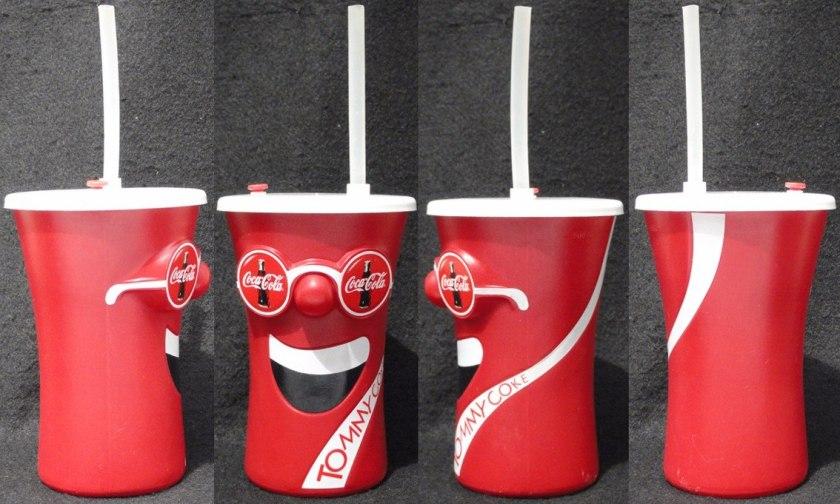 Squeeze/copo Coca-cola Tommy Coke !!! - R$ 24,99 em Mercado Livre