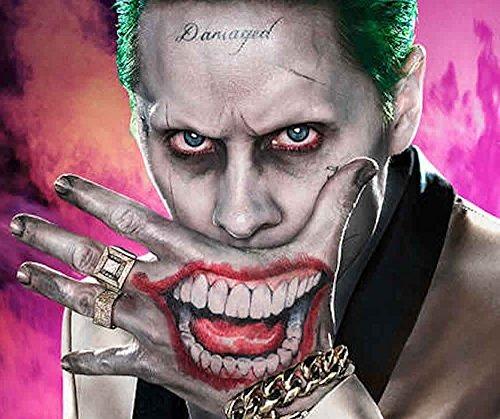 Ss Joker Sr J Cara Y Mano Tatuajes Temporales 76990 En Mercado