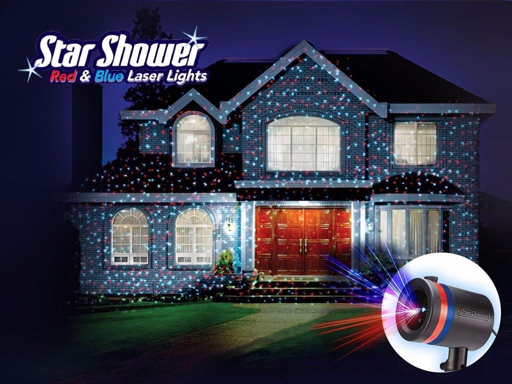 Star Shower Lluvia De Estrellas Led 8 Modosshow