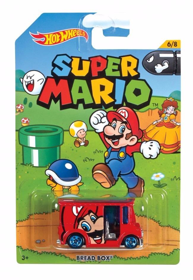 Kit 2 Carrinhos Hot Wheels Super Mario + Luigi Bros Mattel - R$ 69.90 em Mercado Livre