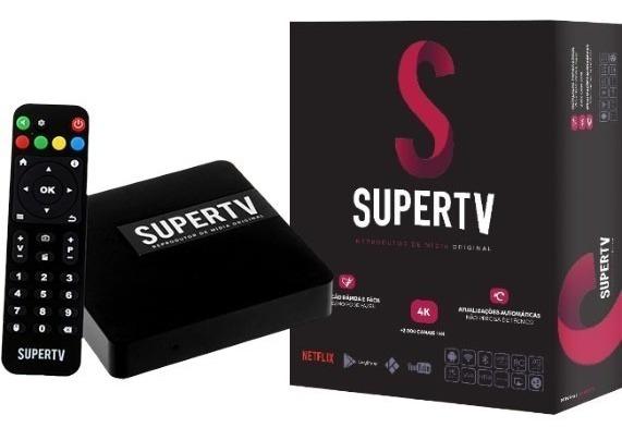 Supertv Box 4k O Mais Top Do Momento Não Precisa De Antena - R ...