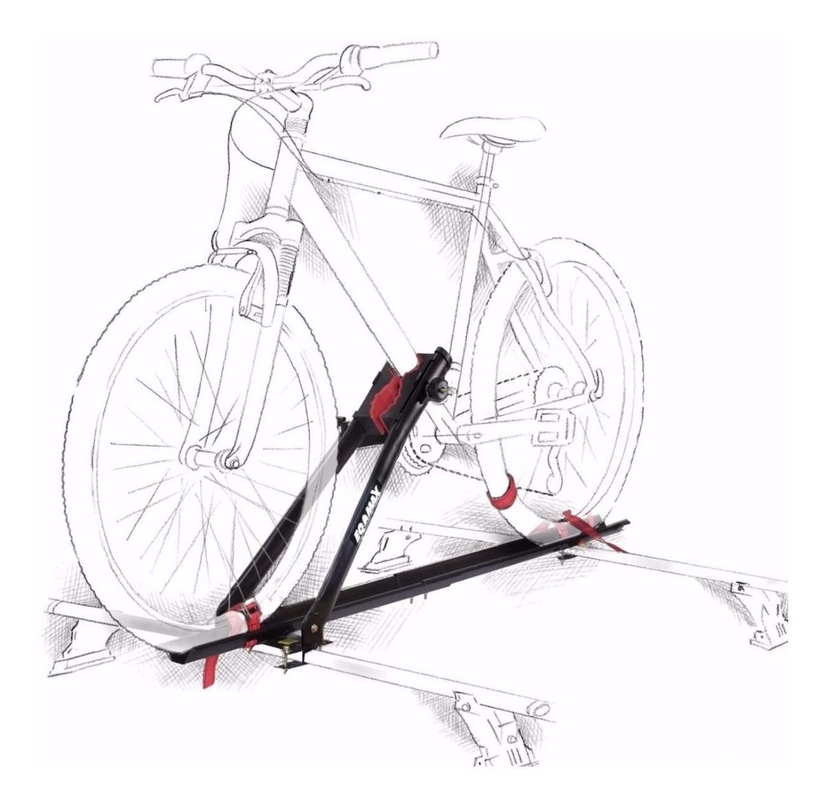 Suporte Teto Para Bicicleta No Carro Transbike Eqmax 1