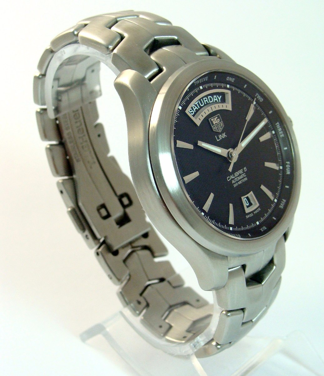 Tag Heuer Link Cal 5 Auto Aco Day Date President Wjf
