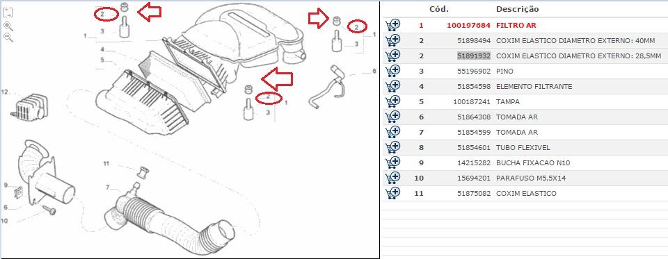 Tampa Cobertura Motor Novo Uno / Fiorino 1.4 8v Original