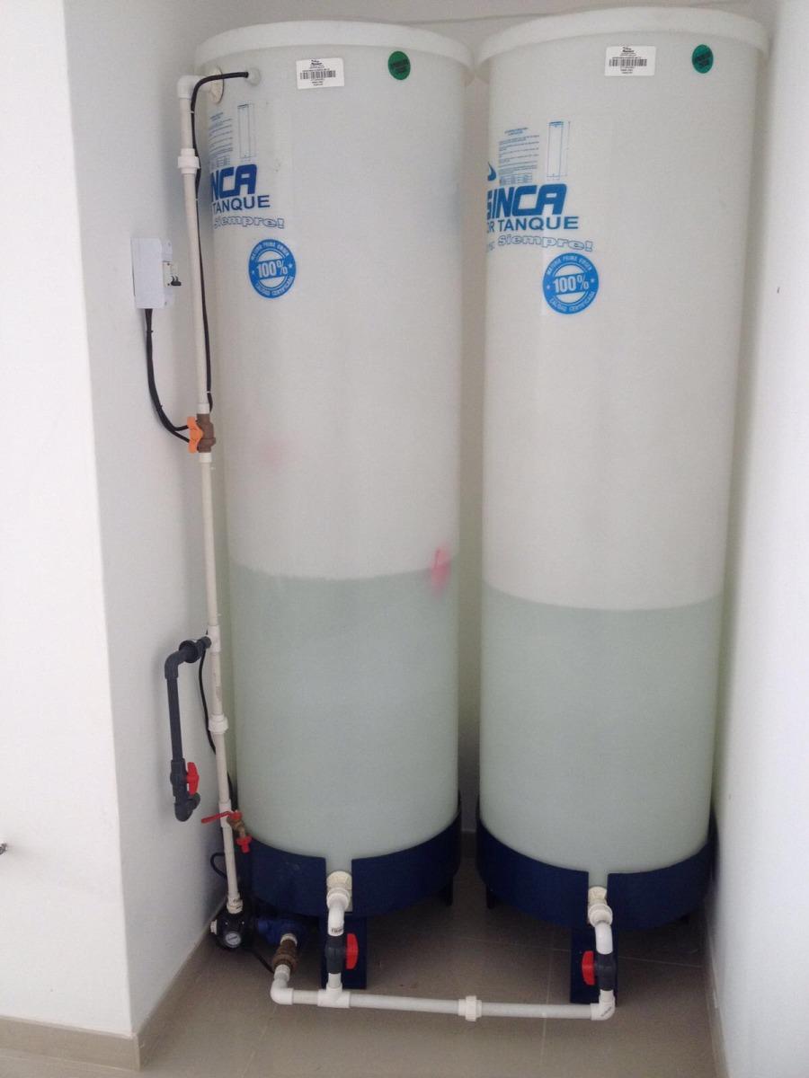Tanque De Agua Para Apartamento 540l Con Base Y Bomba  Bs