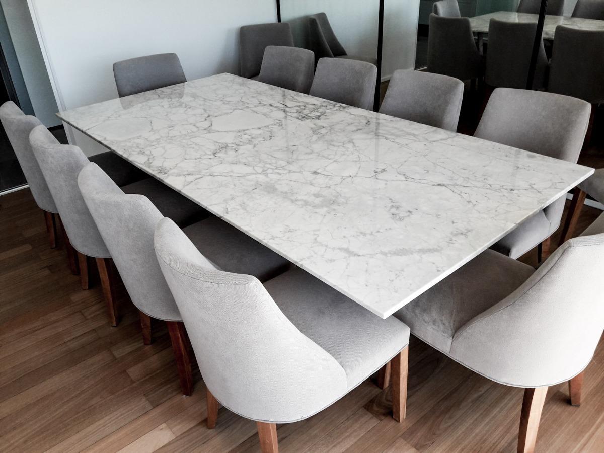 Tapa De Mesa Mrmol Carrara Comedor Estar  Forma Y Diseo   1660000 en Mercado Libre