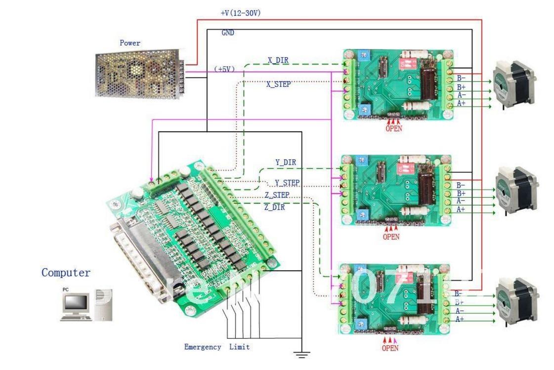 Bob 1205 Db25 Wiring Diagram - db25 1205 breakout board ... Db Breakout Board Wiring Diagram on