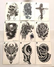 Tatuajes Temporales Para Hombre Insumos Para Tatuajes En Mercado