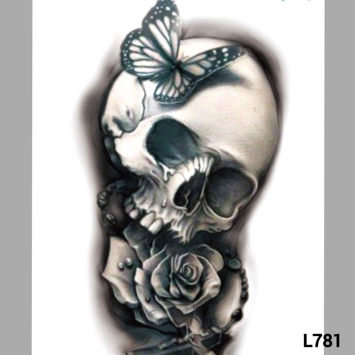Tatuajes Temporales Tatuajes Grandes Brazo Pierna L781