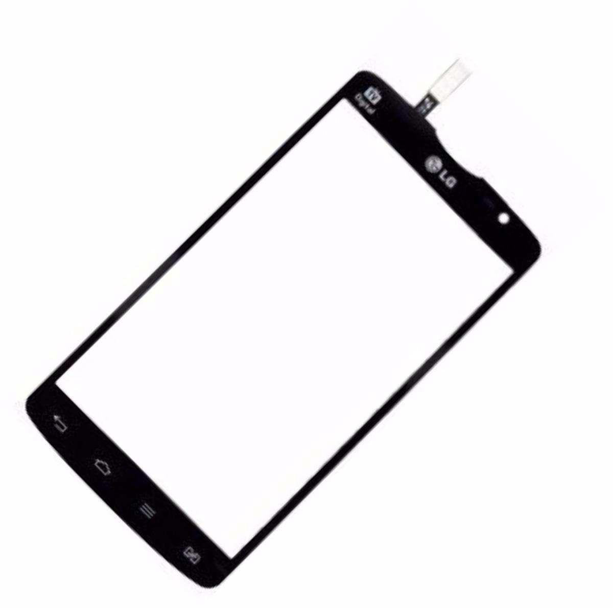 Tela Touch Lg L80 D380 D385 Dual 5.0 Original Preto Vidro