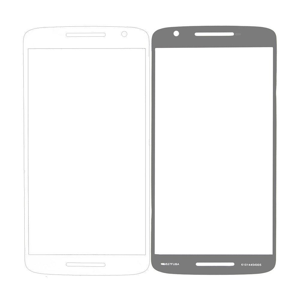 Tela Vidro Sem Touch Motorola Moto X3 Play Xt1563 + Cola