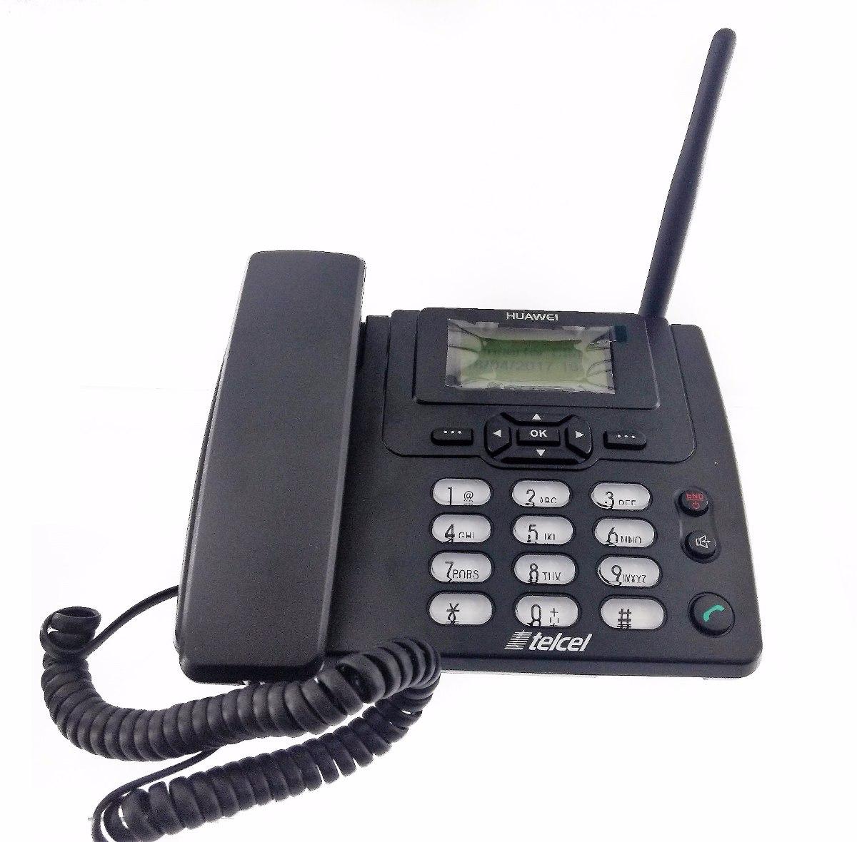 Telefono Fijo Casa Chip Telcel Antena Externa Huawei