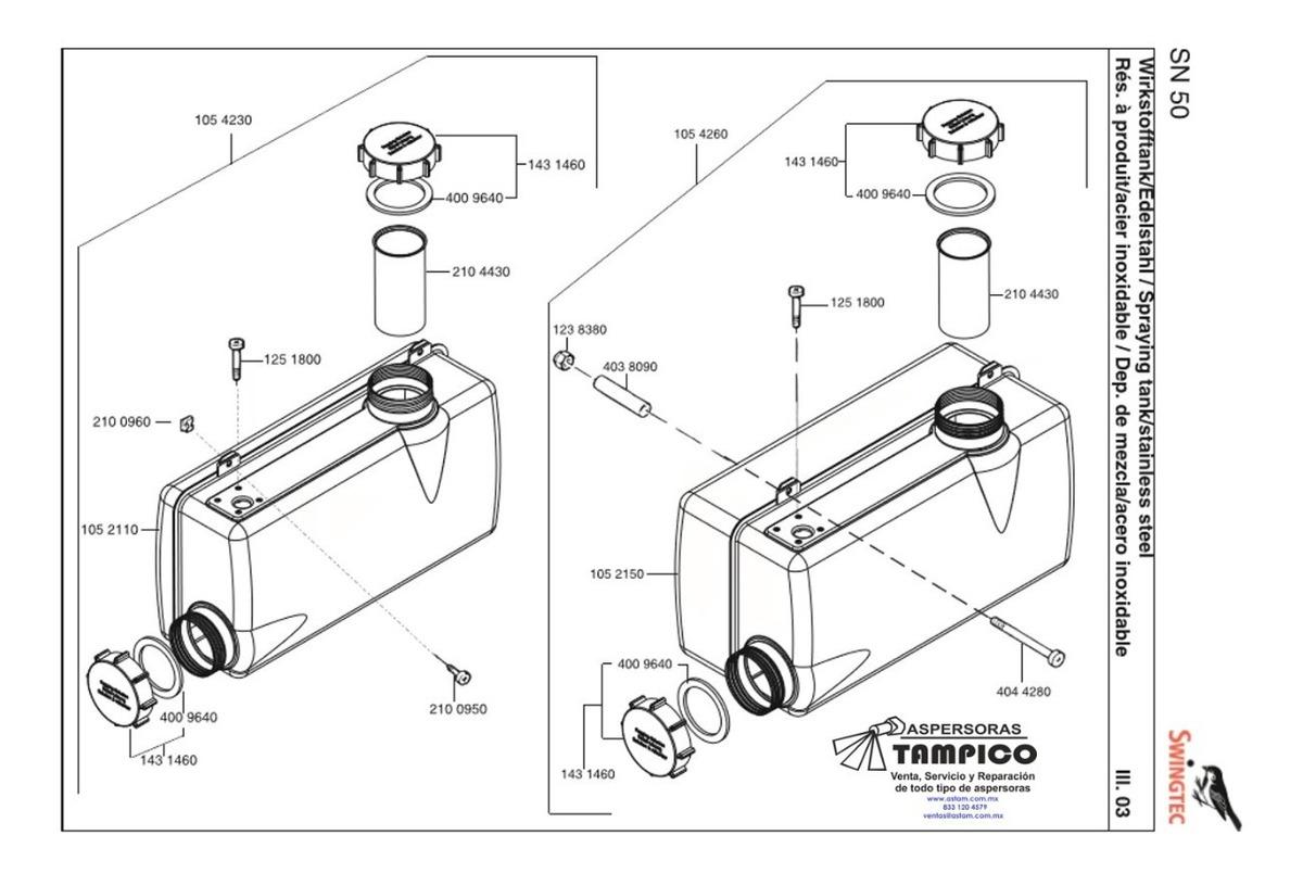 Termonebulizador Nebulizador Swingfog Sn50 Manual Portable