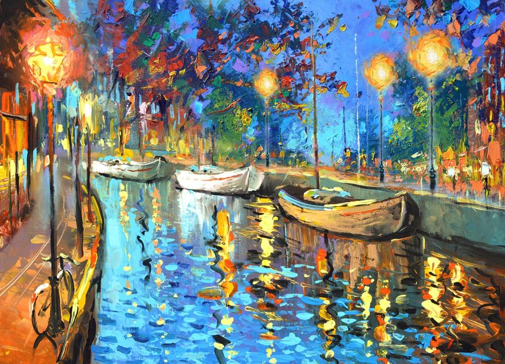 The Lights  Cuadros Pinturas Al Oleo De Dmitry Spiros