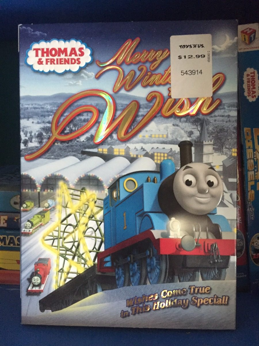 Thomas Amp Friends Merry Winter Wish 2010 Dvd 29900 En Mercado Libre