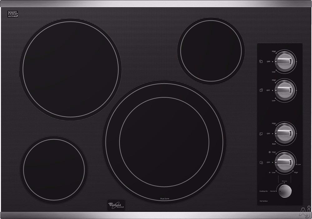 Tope Cocina Electrica Whirpool Vitroceramica 76cm