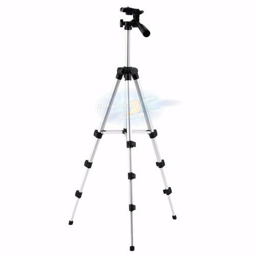 Tripé Universal Aluminio 1.10mt + Suporte Celular Camera