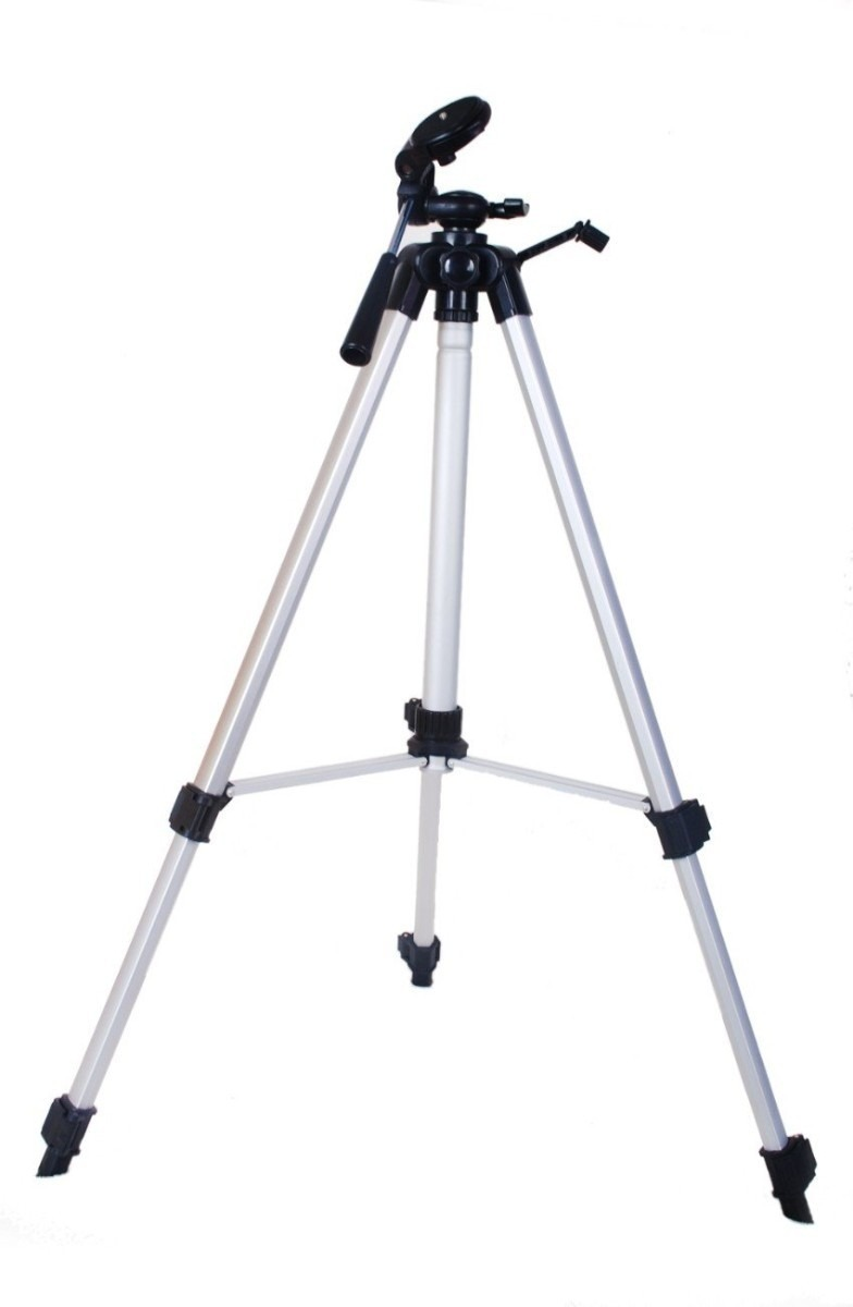 Tripe Universal Aluminio 1.30mt Camera Filmadora