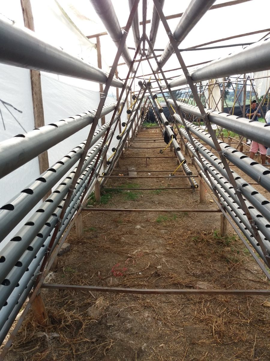Tubo Pvc Hidroponia 3 Sistema Nft Cultivos   21000 en