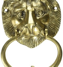 two moustaches brass lion face door knocker cargando zoom  [ 746 x 1200 Pixel ]
