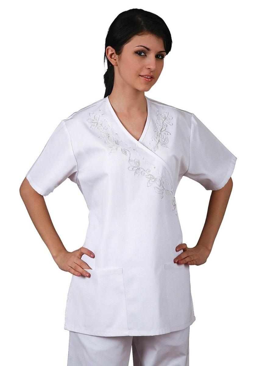 Uniforme Blanco Enfermera Talla Mediano   68000 en