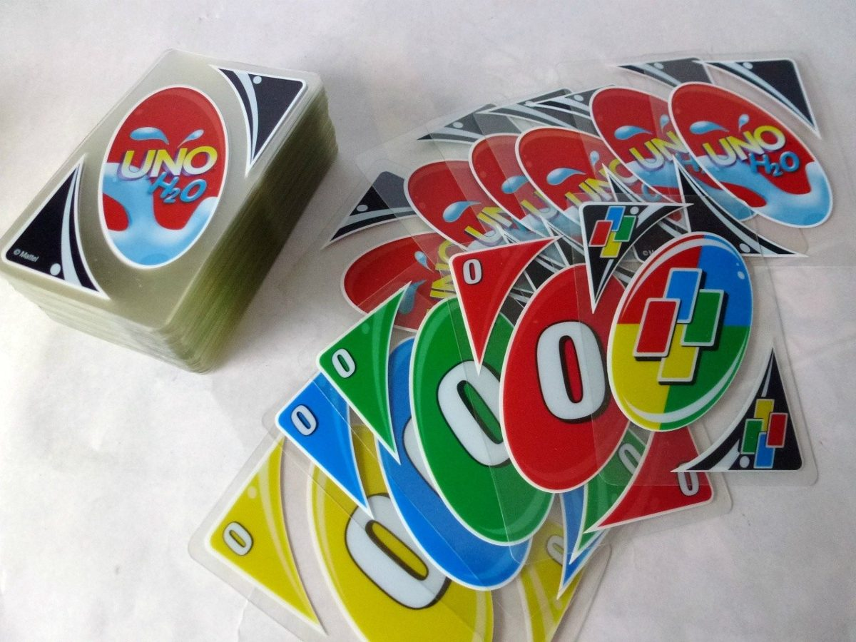 Cartas Uno H2o Mattel Original Nueva Juego Mesa Juguete