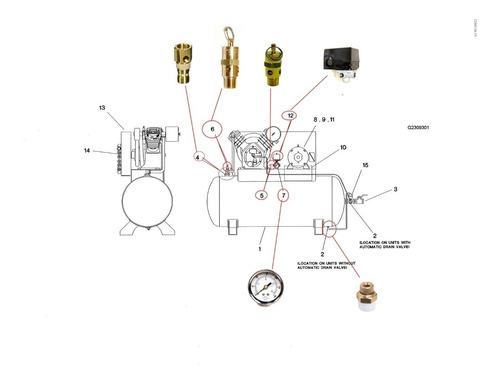 Valvula Check Compresor Ingersoll Rand T30 Model 2545e10