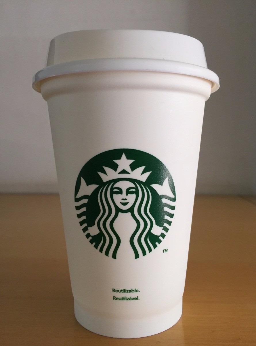 Vaso De Starbucks Con Tapa Y Bolsa Incluida  Original   7499 en Mercado Libre