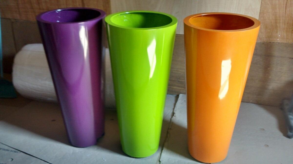 Vasos Em Fibra De Vidro  R 60000 em Mercado Livre