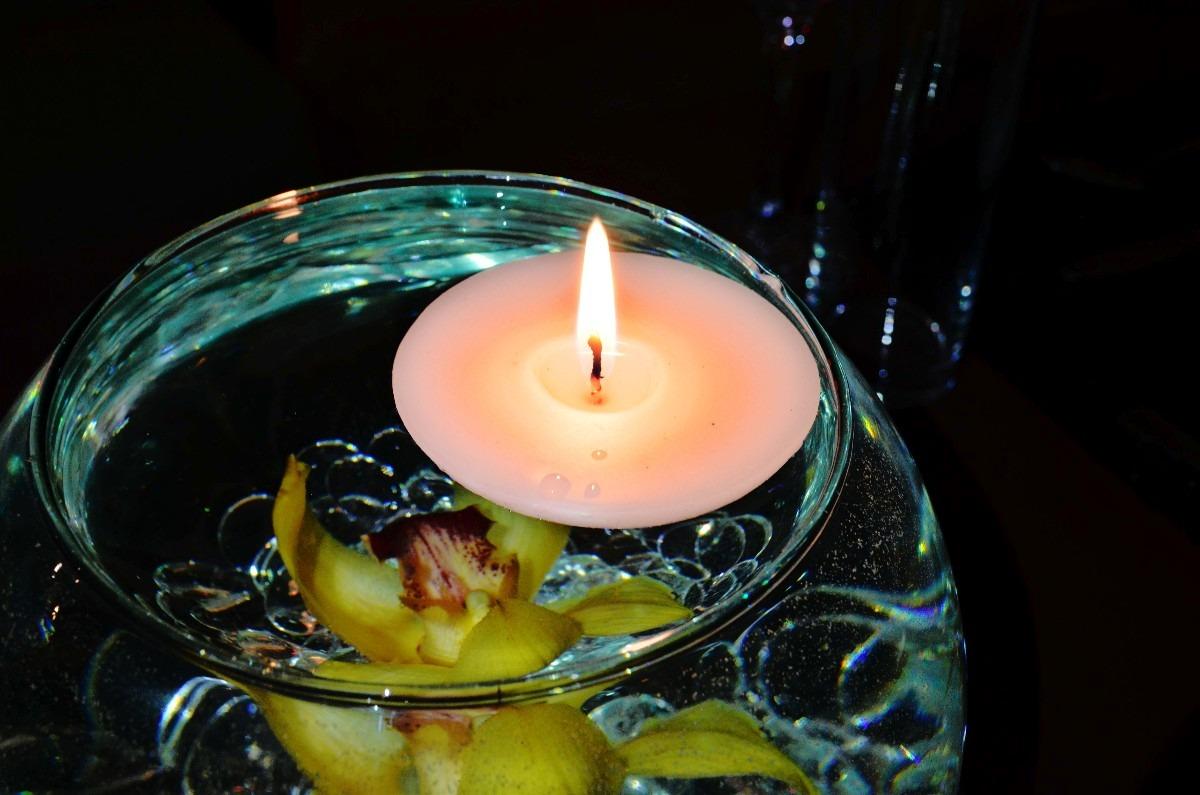 Vela Flotante Para Pecera De Cristal Aluzza   1500 en
