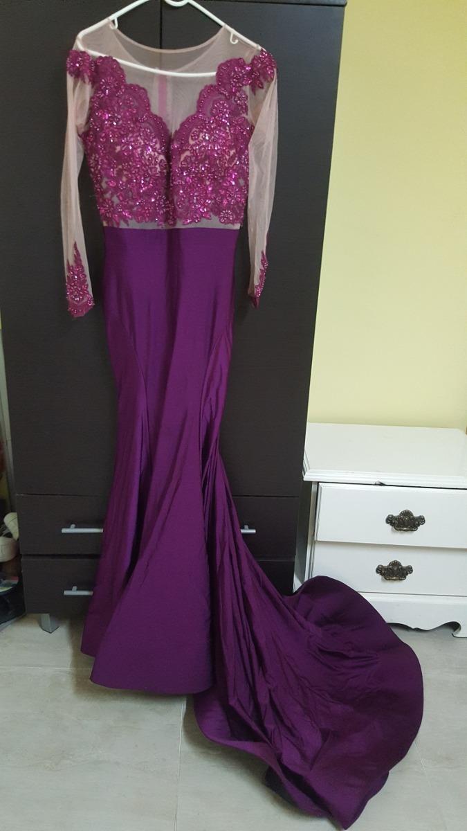 Vestidos Color Bugambilia Largos Irfandiawhiteco