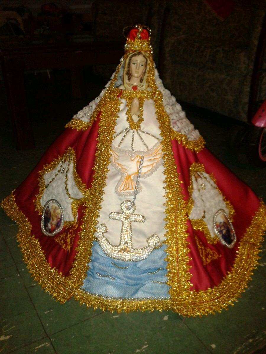 Vestidos Para Virgen Trajes De Novia Y Bautizo Bordados