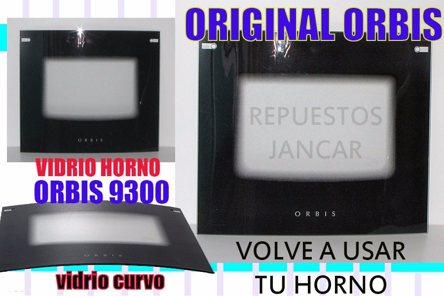 Vidrio De Horno Original Cocina Orbis 93009500938958