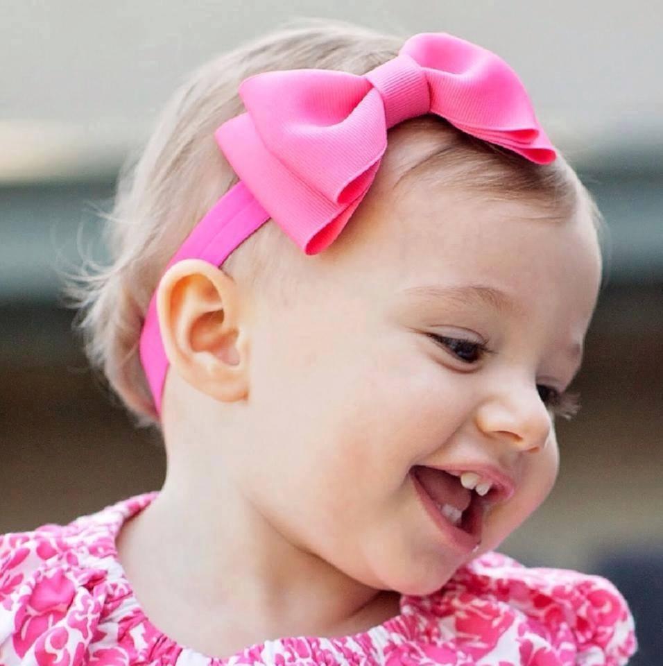 Vinchas Elsticas Y Accesorios  Diademas Para Bebs Y