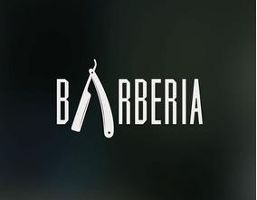 vinilo decorativo logo barbería