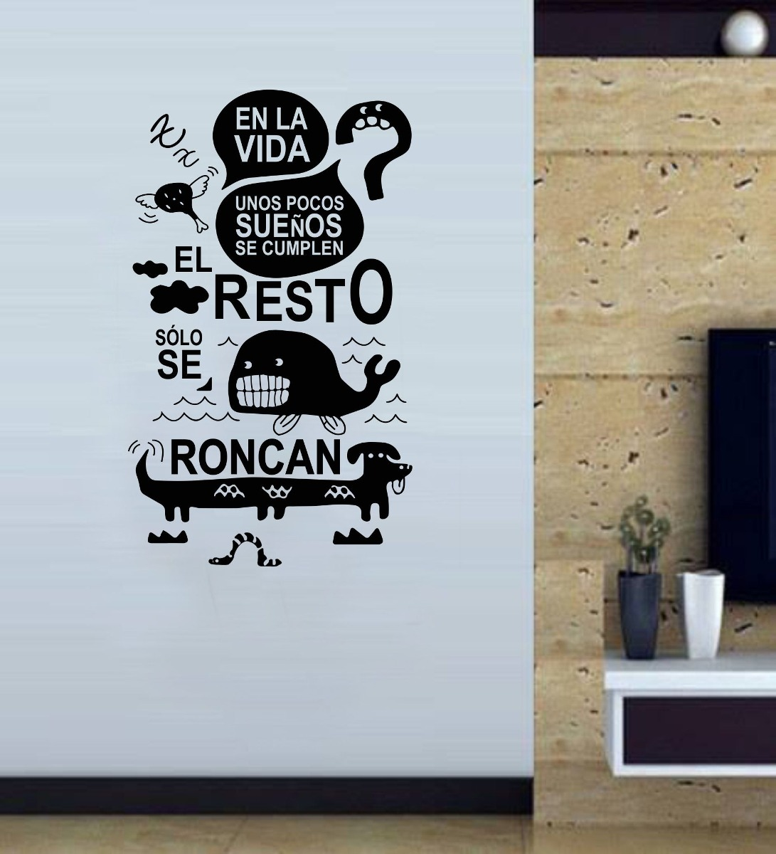 Vinilo Pared Frases 7 Decoracin Wall Stickers   35204