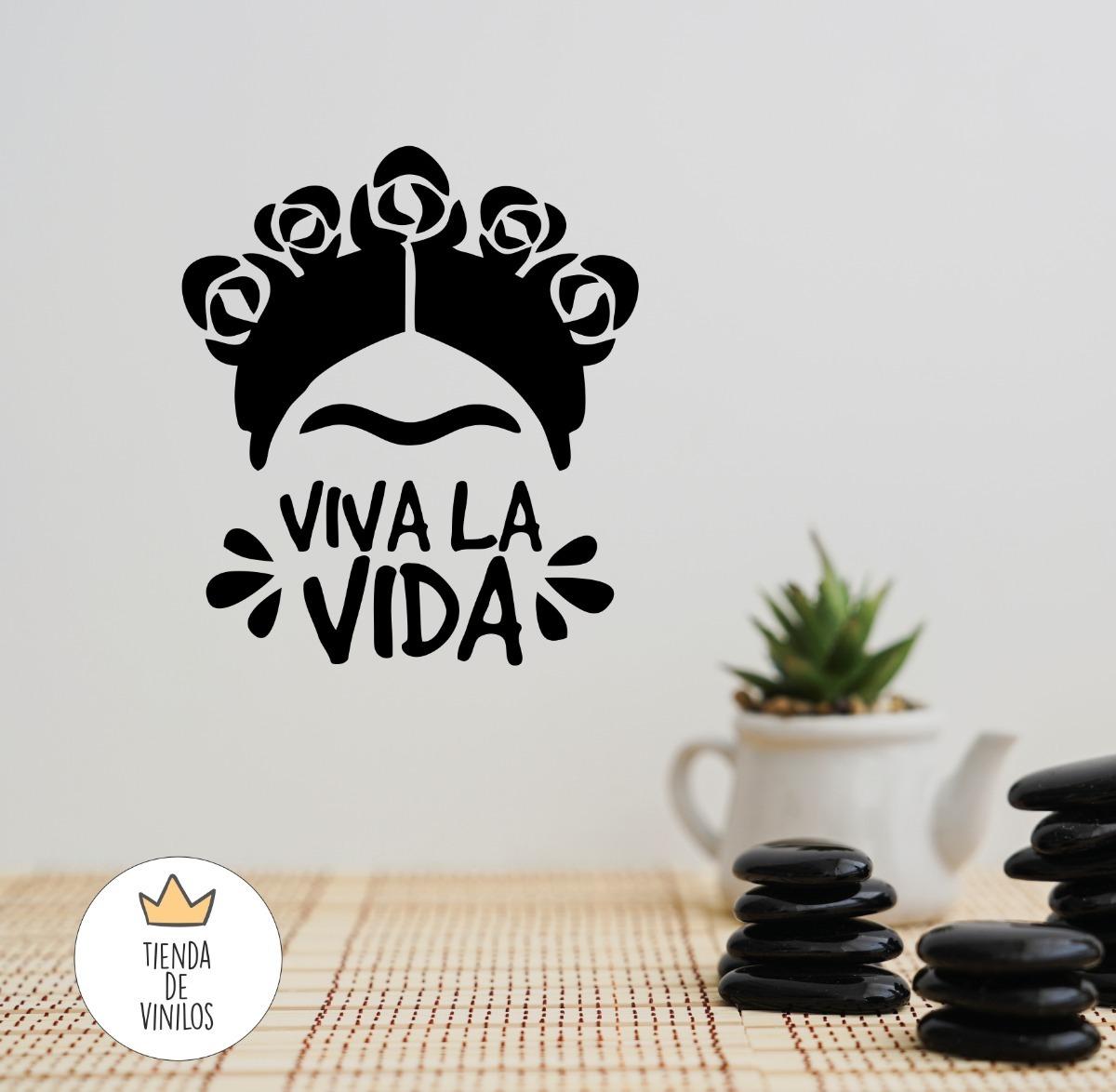 Vinilos Decorativos Frida Kahlo   14500 en Mercado Libre