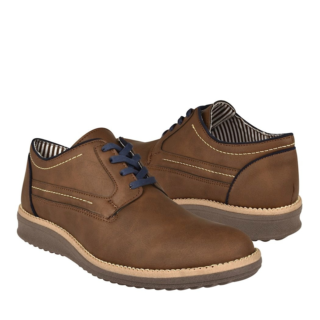 Zapatos Casuales Stylo 209 Suede Cafe   43900 en